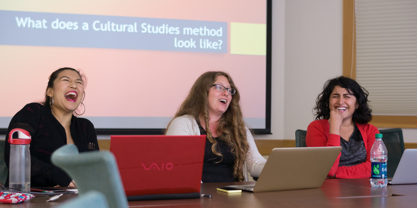 PhD candidates Trisha Barua, Stephanie Maroney, Elisa Oceguera, and CST Alum Jinni Pradhan (Ph.D., 2016) share their expertise in Cultural Studies methods